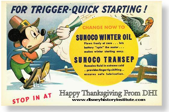 HAPPY THANKSGIVING From DHI & SUNOCO