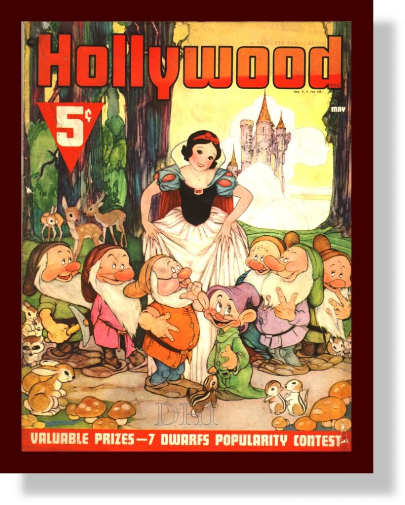DISNEY AND THE MAGAZINE-Snow White in Hollywood
