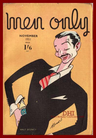 WALT'S BIRTHDAY 2009-Walt … For Men Only?