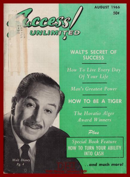 WALT'S BIRTHDAY 2009-Walt A SUCCESS!