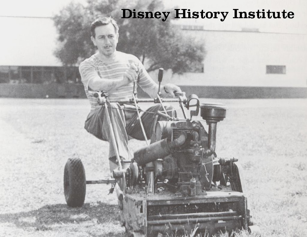 PHOTO PROOF THAT WALT DID EVERYTHING…