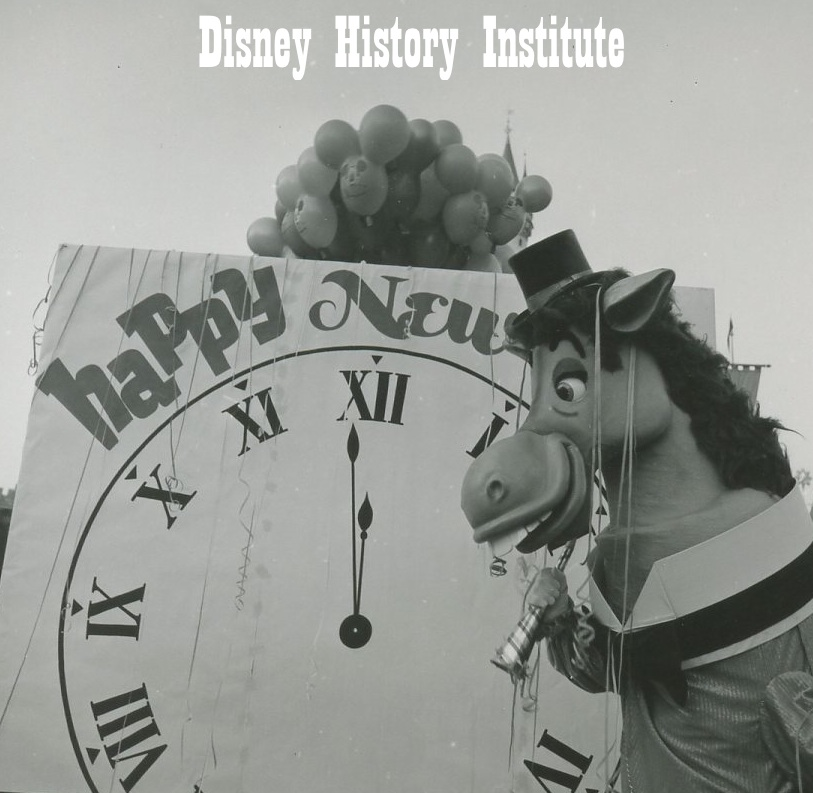 HAPPY NEW YEAR From DHI & Disneyland's Horse!