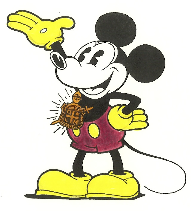 MICKEY MOUSE CHAPTER OF DeMOLAY CARTOONS COMING SOON TO DHI