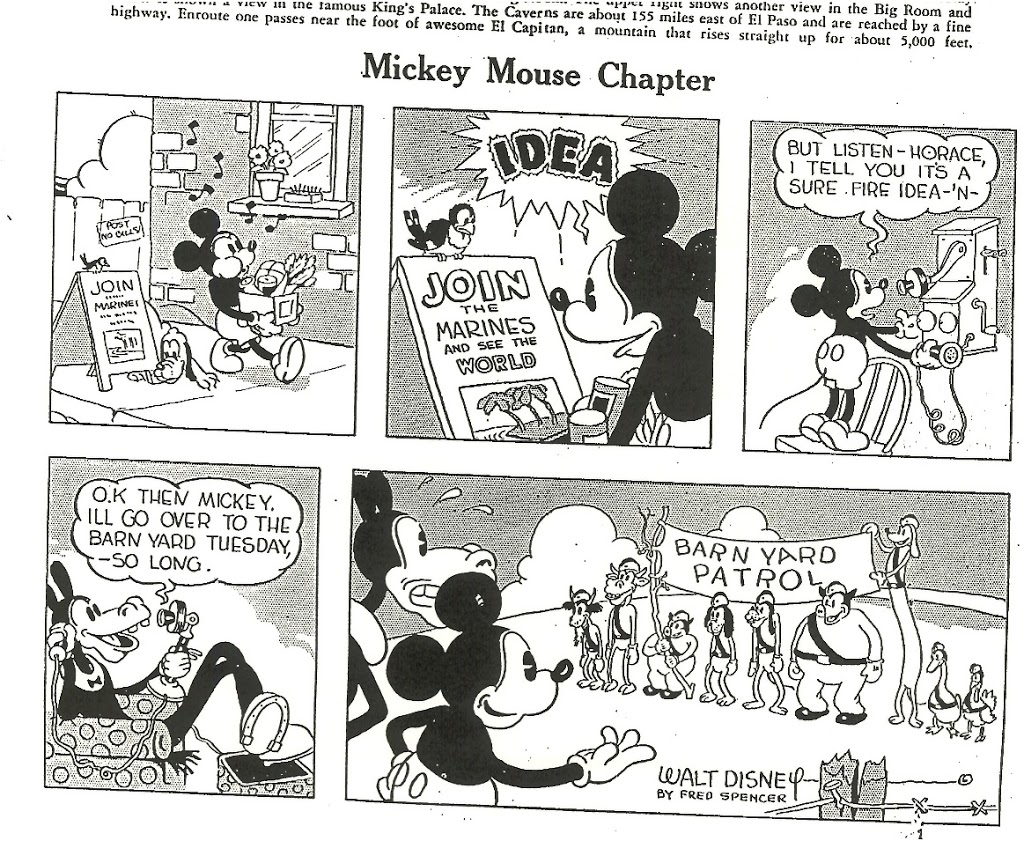 MICKEY MOUSE CHAPTER OF DeMOLAY February/March 1933