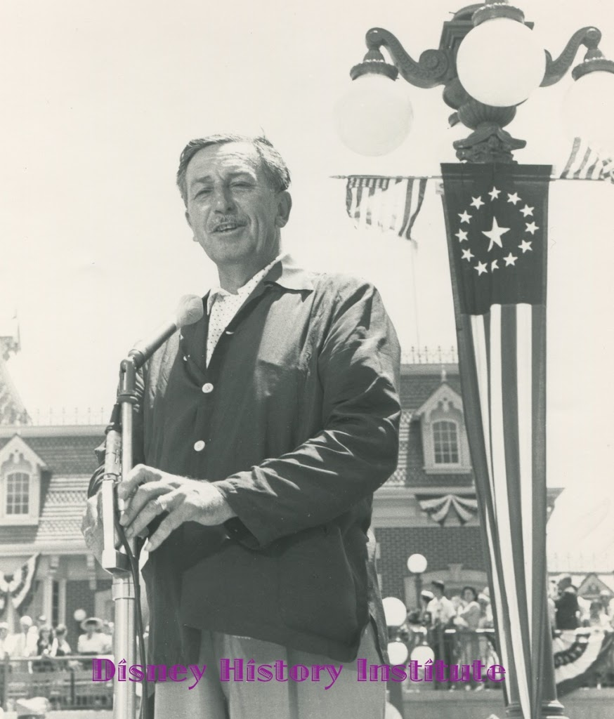 DHI DISNEYLAND BIRTHDAY CELEBRATION~Walt's Opening Day Speech