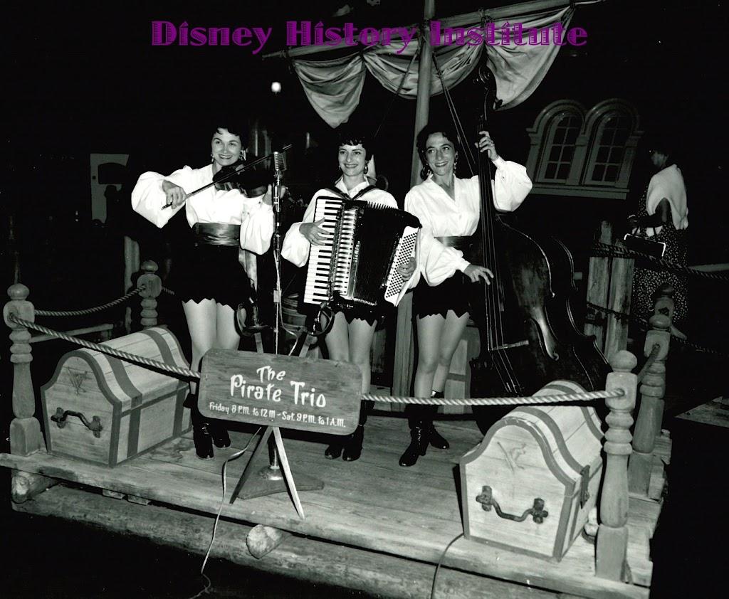 THE UNKNOWN DISNEYLAND PIRATE TRIO - Disney History Institute