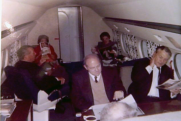 Unpublished Photo of Walt in the Gulfstream