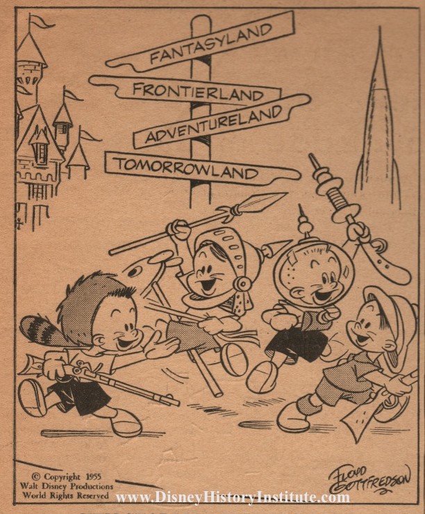 SUNDAY FUNNIES: Floyd Gottfredson Goes To Disneyland
