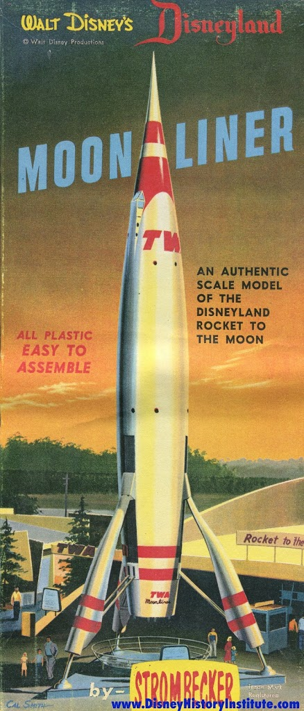Old Tomorrowland Month Twa Rocket To The Moon Disney History Institute