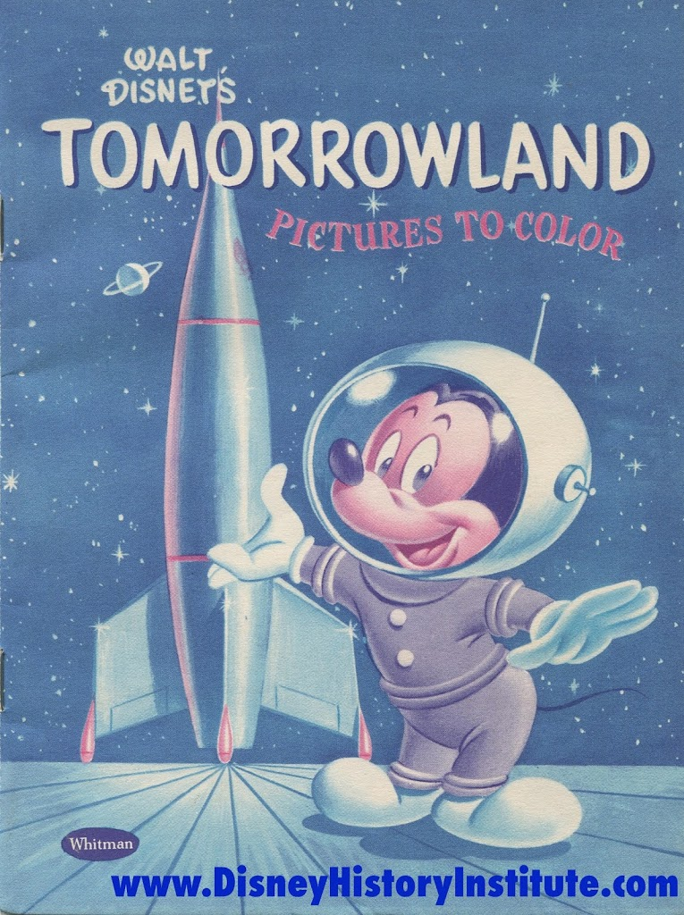 OLD TOMORROWLAND MONTHTWA Rocket To The Moon Disney