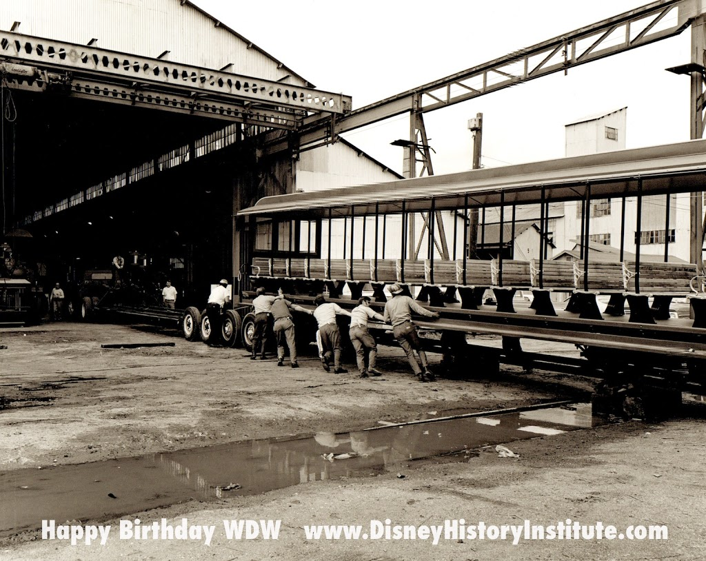 HAPPY BIRTHDAY WDW ~ DHI's Daily Construction Shot