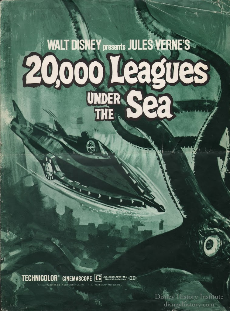 2000 leagues under the sea essay Finally, a ride it's in goofy little nautil-pods, but at least it's a ride unlike the original 20k ride, this one uses no water save for what's sandwiched between.