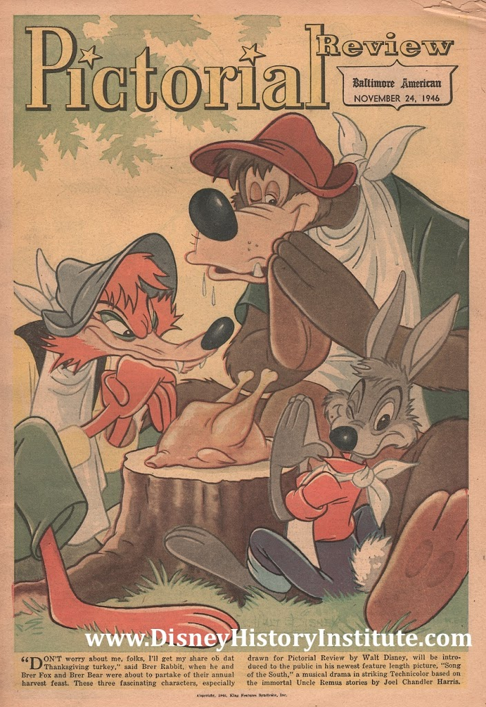 COVERING DISNEY~Happy Thanksgiving…Southern Style