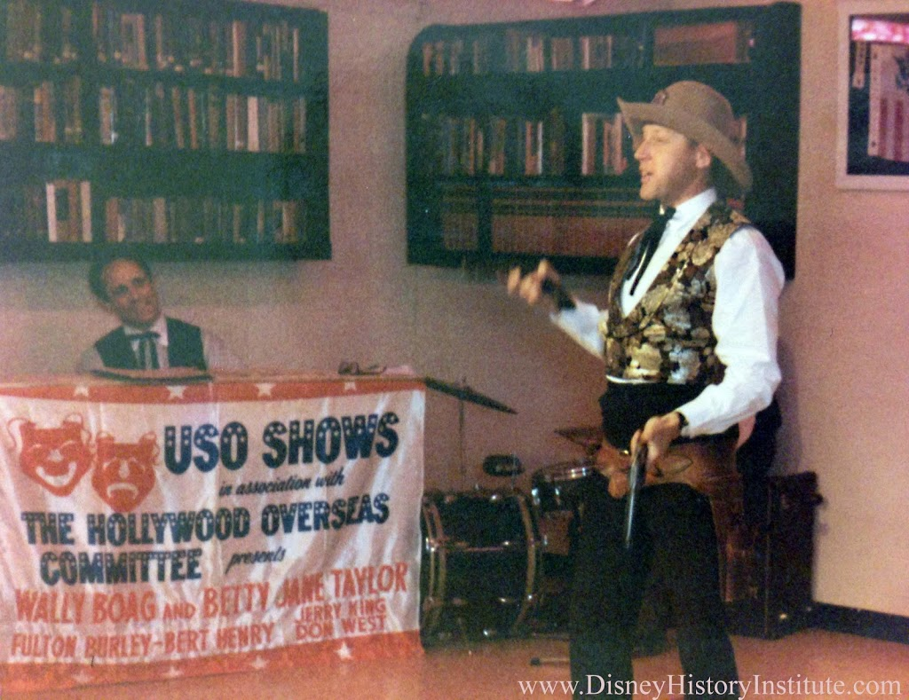 Golden Horseshoe 1968 USO Tour - Disney History Institute