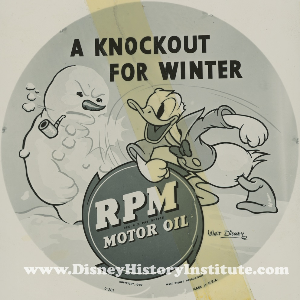 STANDARD OIL and WINTER BE GONE…The Walt Disney Way