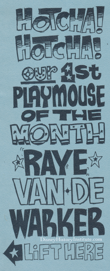 Disney's 1st Playmouse of the Month