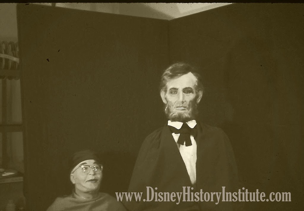 Before Lincoln – The First Disney Human Animatronic