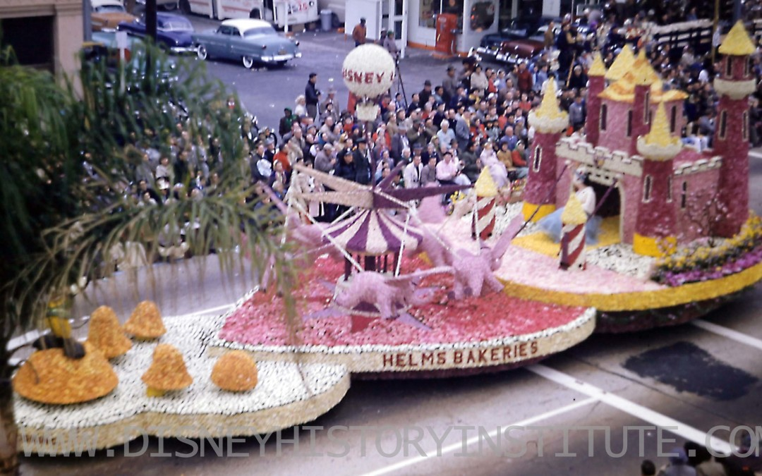 Disney and the Rose Parade – 1955
