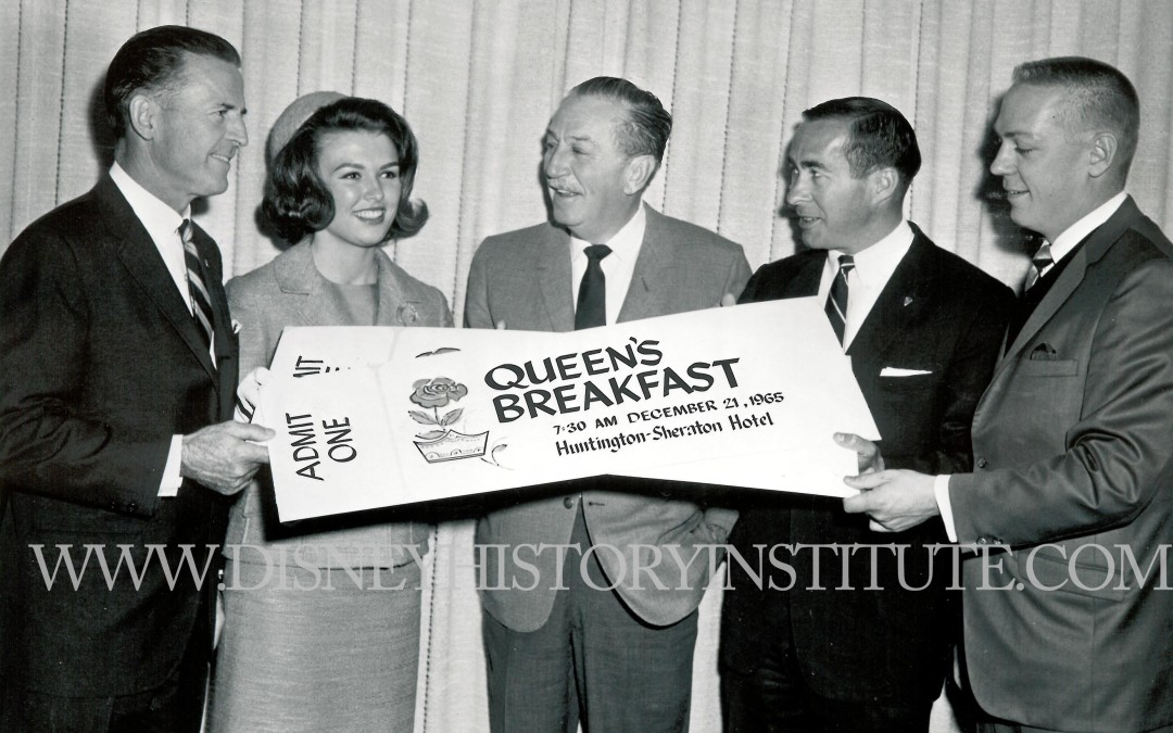 The Rose Queen and Walt Disney