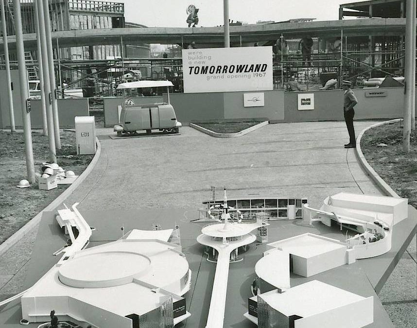 JOURNAL OF A DISNEY HISTORIAN~New Tomorrowland, Steamboat Willie, Walt & Polo & Walt Photobombed
